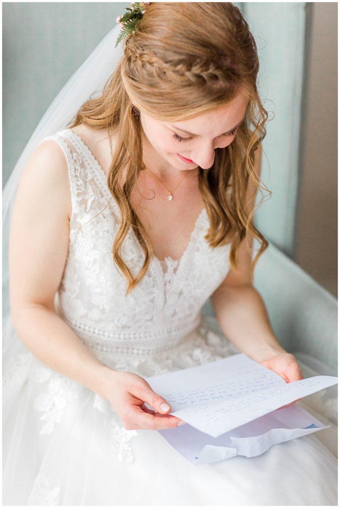 brudekjole og brudens forberedelse