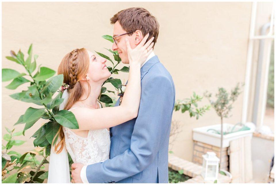 bryllupsportrætter taget til et rustikt efterårsbryllup