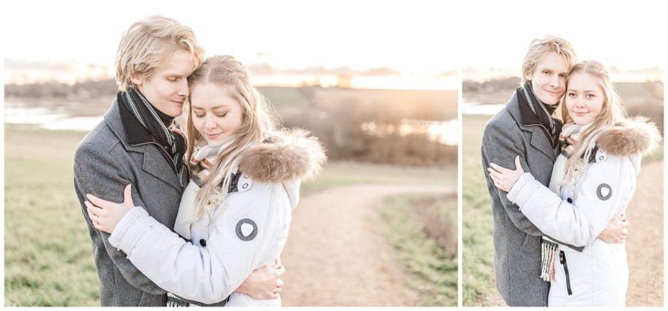 vinter forlovelsesbilleder taget af bryllupsfotograf jeanette merstrand danish wedding photographer