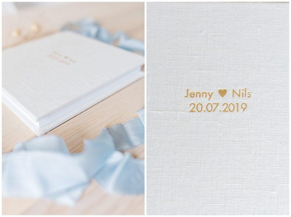 bryllupsbilleder i bryllupsalbum taget af bryllupsfotograf jeanette merstrand