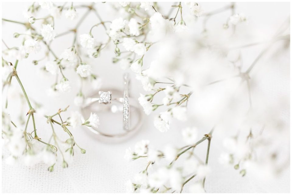 wedding rings at a danish wedding