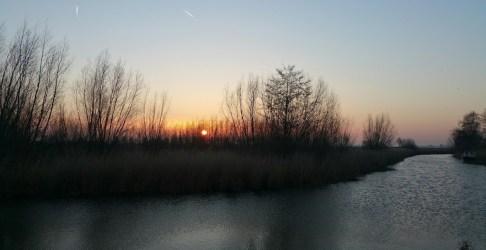 Heel even… kwam de Lente om t hoekje kijken