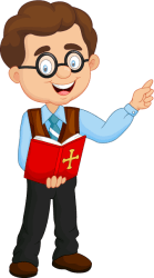 teacher cartoon clipart male teaching religion speaking storyteller story jesus sing transparent students choral classroom teachers ask icons