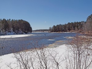 Minong Flowage/Cranberry Lake is refilling