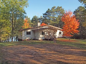 3 BR home on 4.64 acres Cranberry Lake/Minong Flowage