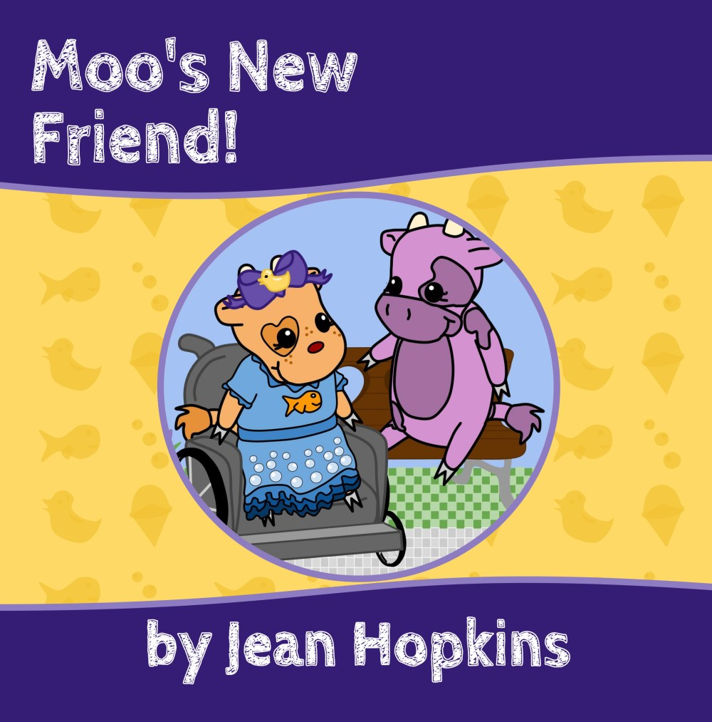 Moo's New Friend!