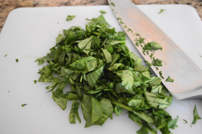 Spinach adds great freshness and pretty green color to the balsamic spinach quinoa.