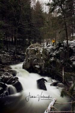 Long exposure shot Vosges France