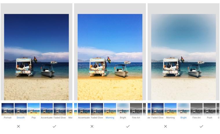 snapseed, looks, smartphone fotografie