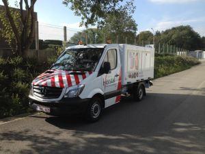 camionnette service envrironnement herstal