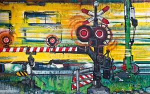 Zwolle graffiti 1 (c) Flickr pieter musterd passage a niveau