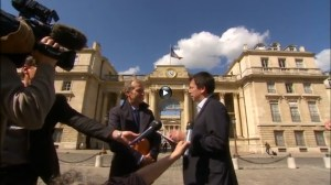 Gaspillage Alimentaire Frederic Daerden a Elysee reportage RTC tele Liege