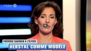 Video RTBF Frederic Daerden a Elysee Herstal comme modèle