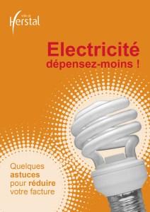 Cover brochure electricite depensez moins