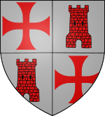 Armoiries d'Arnaud de Toroge
