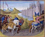 Arrivée des Croises à Constantinople