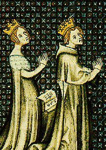 Louis VII et Adèle de Champagne