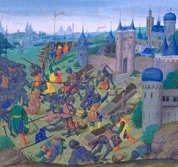 Siège de Nicopolis 1396