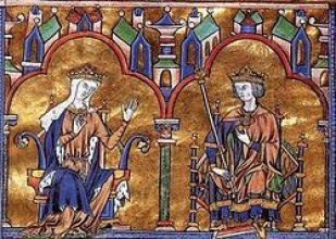 Blanche de Castille et Saint Louis