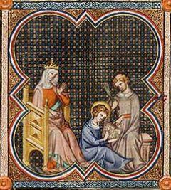 Louis IX et Blanche de Castille