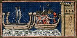 Prise de Damiette juin 1249