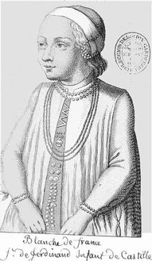 Blanche de France (1253-1320/1322)