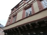 Rodez, maisons à colombages