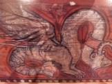 Panneaux peints de décors fantastiques (5)