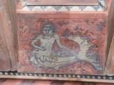 Panneaux peints de décors fantastiques