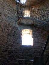 Escalier en colimaçon du donjon
