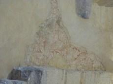 Fresques murale, lion