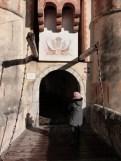 Entrée et pont-levis