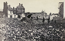 Richmond en ruine en 1865