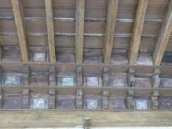 Panneaux peintsPlafond du cloître