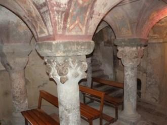 Chapiteaux de la crypte