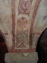 Crypte, voûte décorée