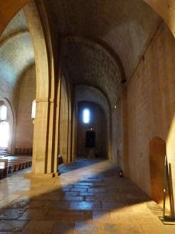 Eglise abbatiale, collatéral droit