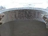 Fresques sur les arcs du baptistère