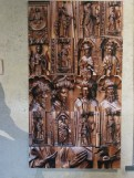 Porte sculptée