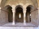 Salle capitulaire vue du cloître