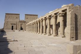 Esplanade et colonnade