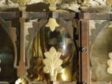 Reliquaire de Marie-Madeleine, le crâne