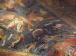 Chapelle basse décors de la voûte