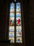 Vitrail de l'abside