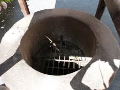 Le cloître, puits