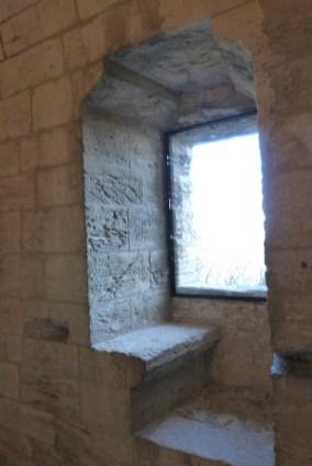 La Tour des Masques-fenêtre à coussiège