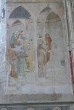 La chapelle des fresques-Circoncision de Jean-Baptiste