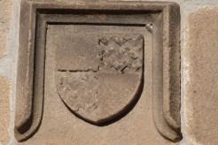 Armes du prieur Falcon de Bouthéon
