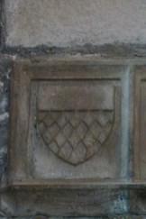 Blason dans l'abside