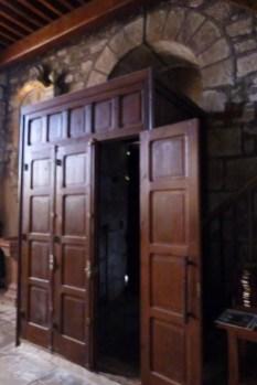 Porte intérieure de l'église